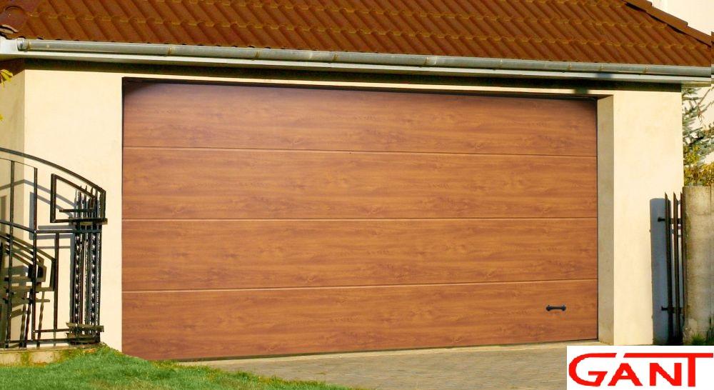 Автоматические гаражные ворота Гант