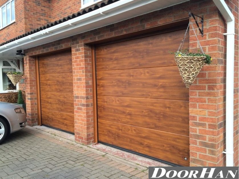 Автоматические гаражные ворота Doorhan