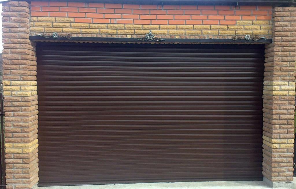 автоматические гаражные ролетные ворота