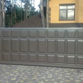 выбрать ворота для частного дома